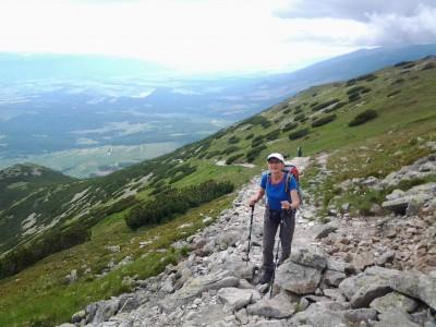 optimiser bâtons en randonnée slovaquie